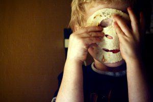 Tortilla-skeleton face